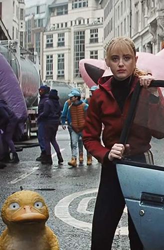 Kathryn Newton in Pokémon Detective Pikachu - Credit IMDB