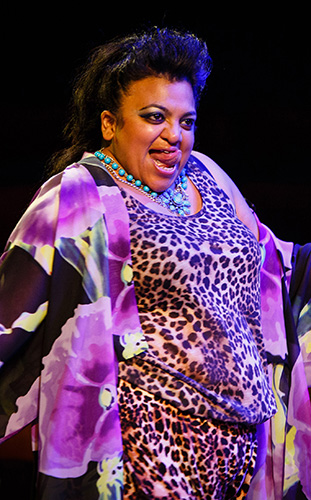 Rina Fatania in Dead Dog in a Suitcase (and other love songs) - Credit Steve Tanner