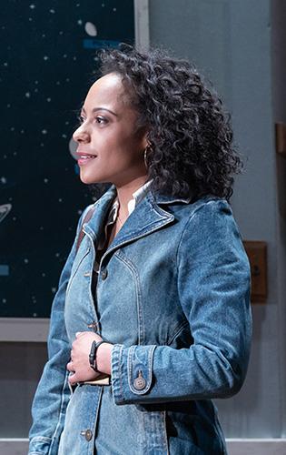 Rosalind Eleazar in The Starry Messenger - Credit Marc Brenner