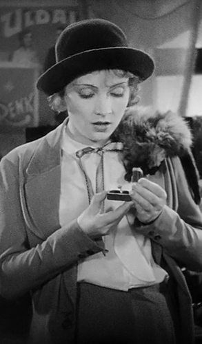 Marlene Dietrich in The Blue Angel - Credit IMDB