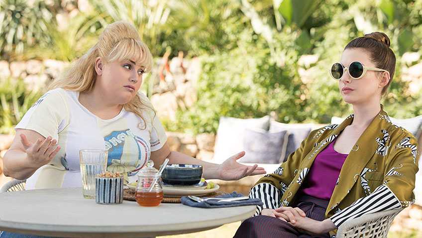 Anne Hathaway and Rebel Wilson in The Hustle - Credit IMDB
