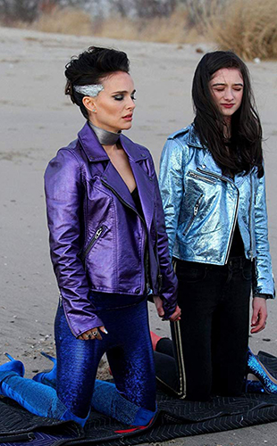 Natalie Portman and Raffey Cassidy in Vox Lux - Credit IMDB