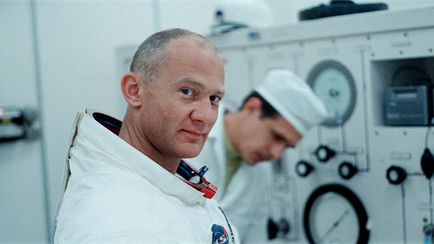 Buzz Aldrin in Apollo 11 - Credit Courtesy of Sundance Institute.