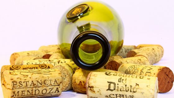 What do you do with your empty wine bottles?