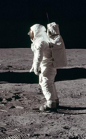 Buzz Aldrin in Apollo 11 - Credit IMDB