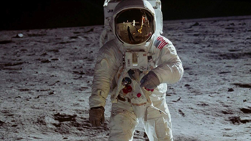 It might be the 50th anniversary of the moon landings, but this awe-inspiring documentary rolls backs the years