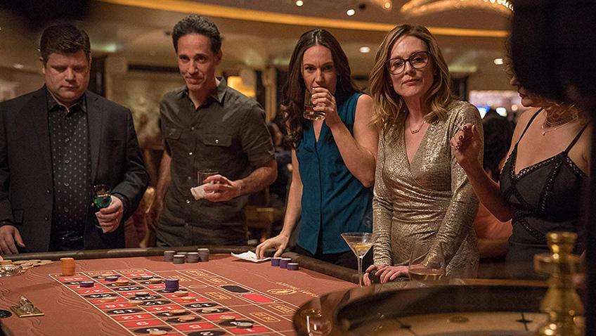 Julianne Moore, Sean Astin and Sarah Lowe in Gloria Bell - Credit IMDB