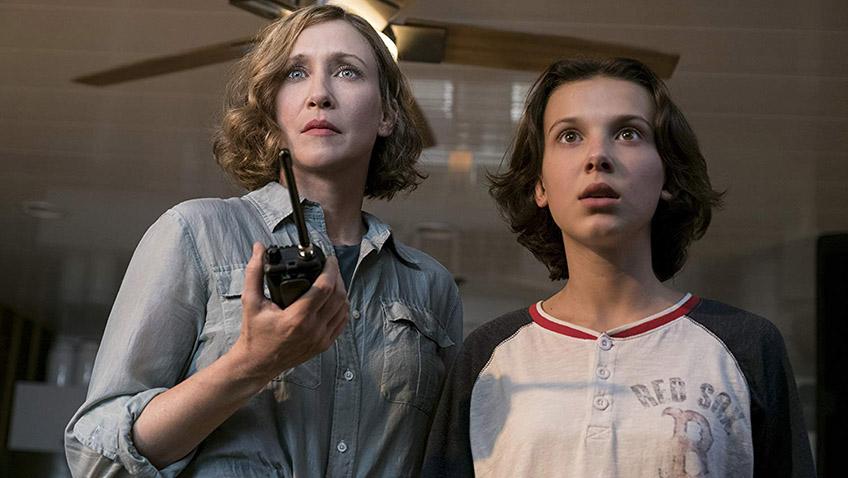 Vera Farmiga and Millie Bobby Brown in Godzilla: King of the Monsters - Credit IMDB