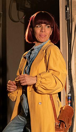 Sirine Saba in Wife - Credit Marc Brenner