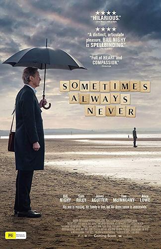 Sometimes Always Never - Credit IMDB