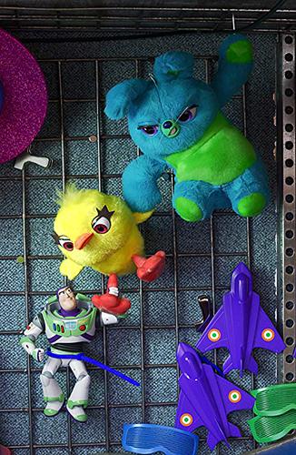 Tim Allen, Keegan-Michael Key and Jordan Peele in Toy Story 4 - Credit IMDB