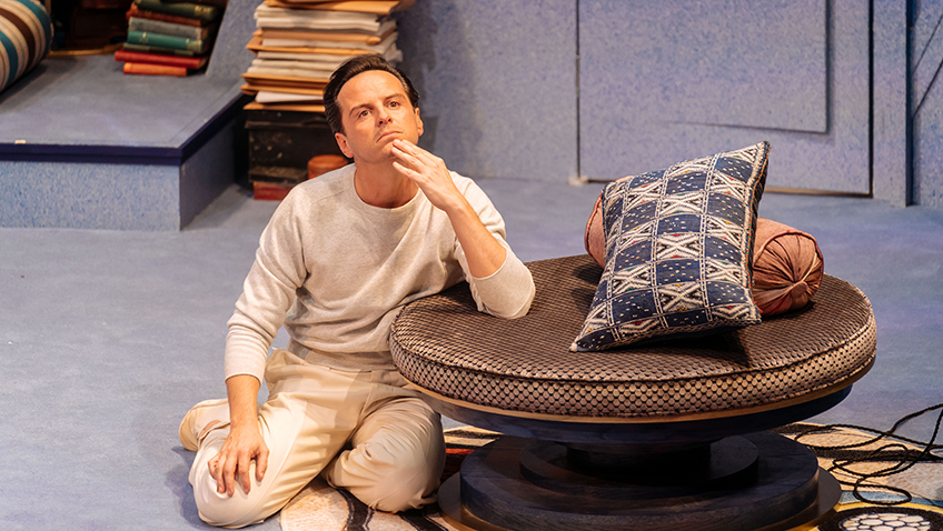 Andrew Scott is hilarious in Noel Coward comedy