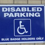 A letter from J. Hayford – Blue Badge scheme