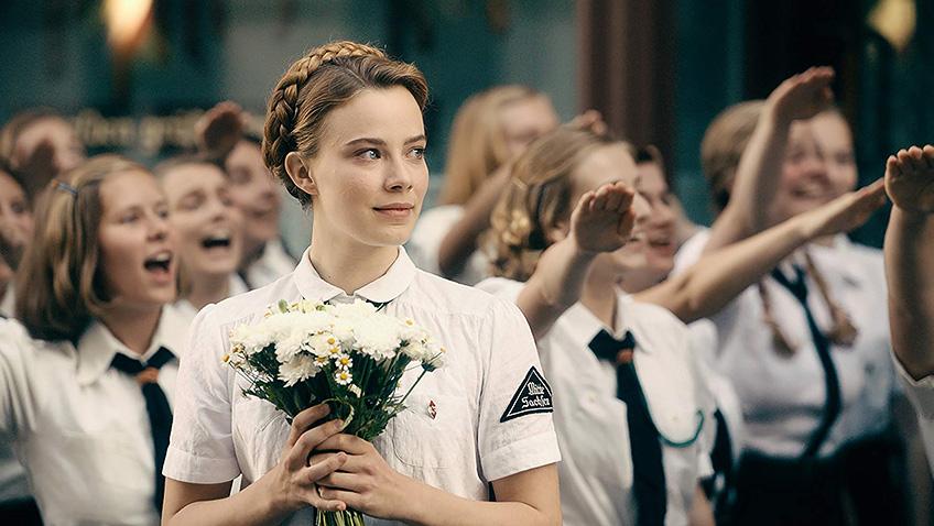 Saskia Rosendahl in Never Look Away - Credit IMDB
