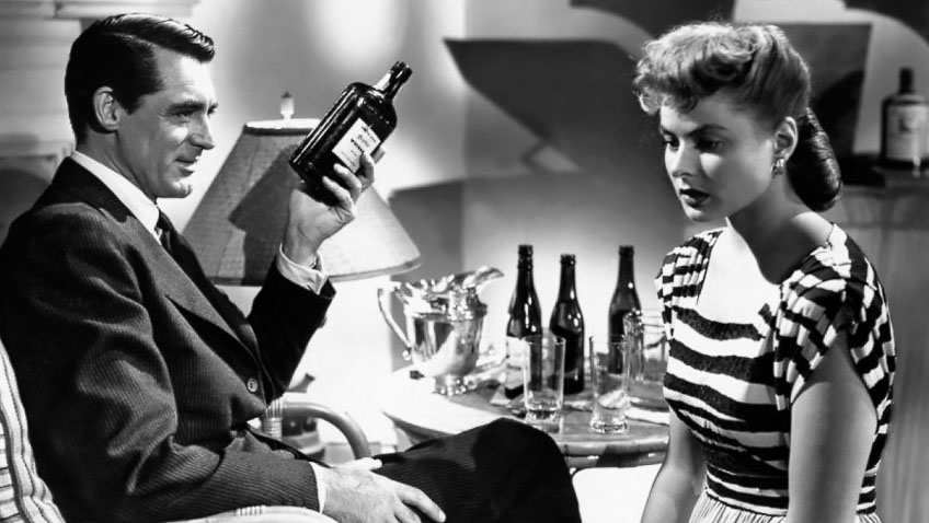 Ingrid Bergman and Cary Grant in Notorious - Credit IMDB
