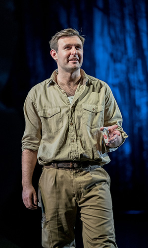 James McArdle in Peter Gynt - Credit Manuel Harlan