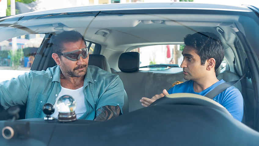 This buddy movie about a love-sick Uber driver crashes before it gets into gear