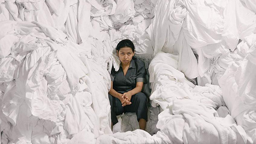 Gabriela Cartol in The Chambermaid - Credit IMDB