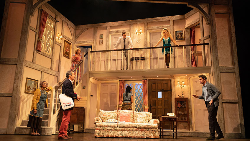 Noises Off is one of the best farces, a modern classic