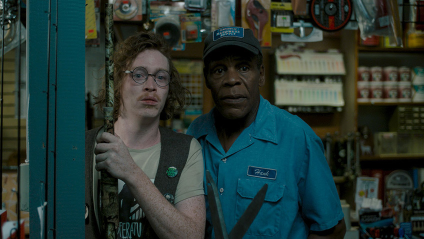 Danny Glover and Caleb Landry Jones in The Dead Don't Die - Credit IMDB