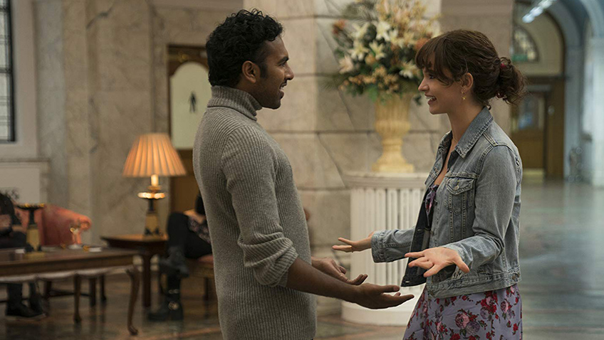 Himesh Patel and Lily James in Yesterday - Copyright Universal Pictures - Credit IMDB