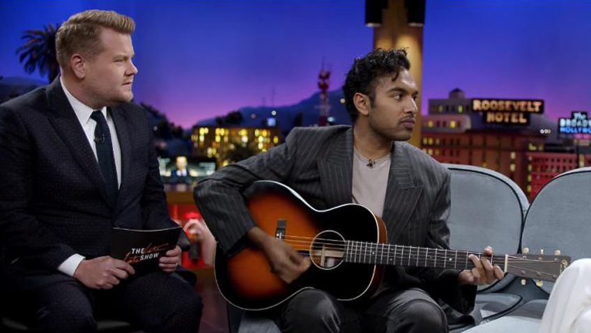 James Corden and Himesh Patel in Yesterday - Credit IMDB