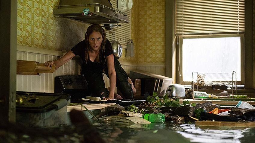 Kaya Scodelario in Crawl - Credit IMDB