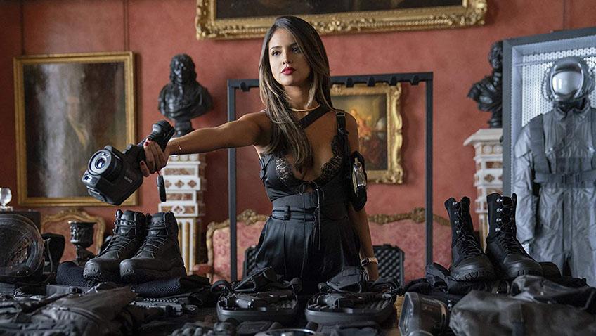 Eiza González in Fast & Furious: Hobbs & Shaw - Credit IMDB