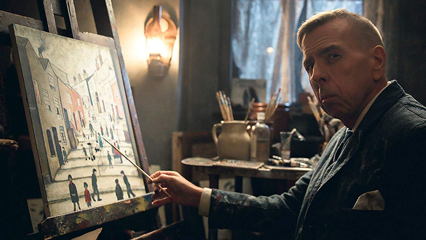 Timothy Spall in Mrs Lowry & Son - Credit IMDB