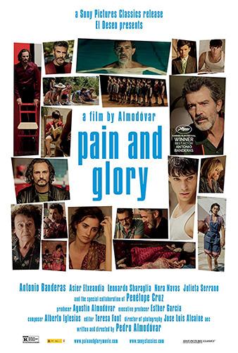 Pain and Glory cover - Credit IMDB