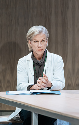 Juliet Stevenson in The Doctor - Credit Manuel Harlan