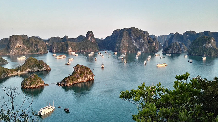 Halong Bay - Vietnam - Free for commercial use No attribution required - Credit Pixabay