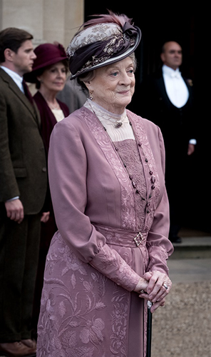 Maggie Smith in Downton Abbey - Credit IMDB