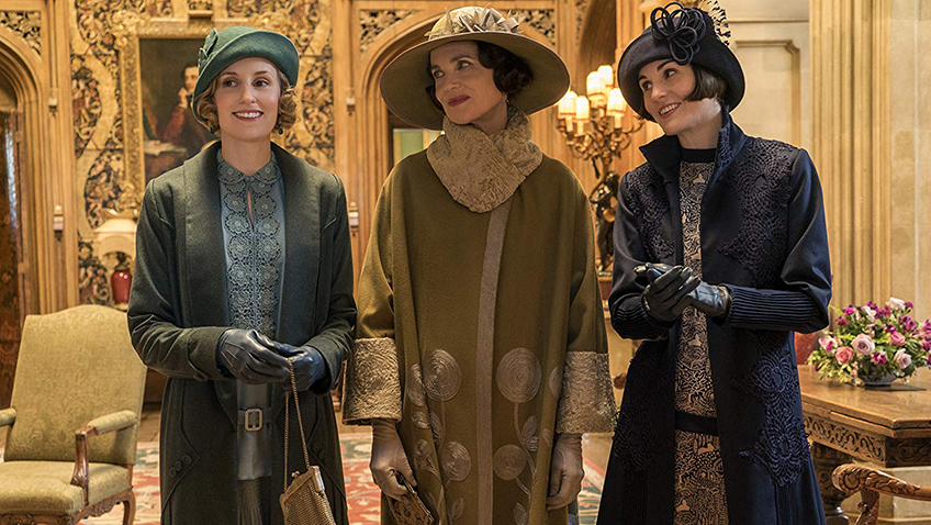 Elizabeth McGovern, Michelle Dockery and Laura Carmichael in Downton Abbey - Copyright 2019 Focus Features - Credit IMDB