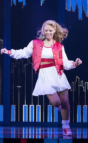 Kimberley Walsh in Big the Musical - Credit Alastair Muir