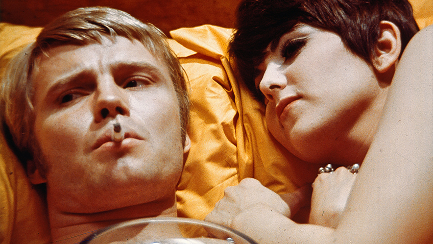 Jon Voight and Brenda Vaccaro in Midnight Cowboy - Credit BFI