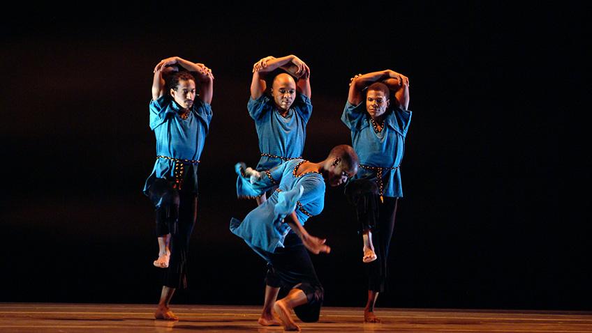 Juba - Alvin Ailey American Dance Theater - Credit Nan Melville