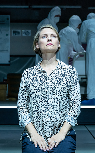 MyAnna Buring in A Very Expensive Poison - Credit Marc Brenner