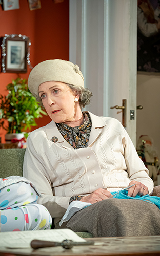 Patricia Hodge in A Day in the Death of Joe Egg - Credit Marc Brenner