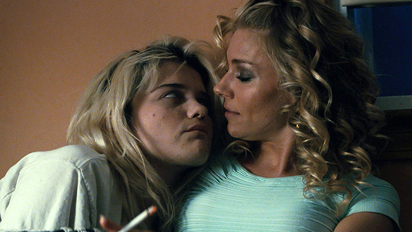 Sienna Miller and Sky Ferreira in American Woman - Credit IMDB