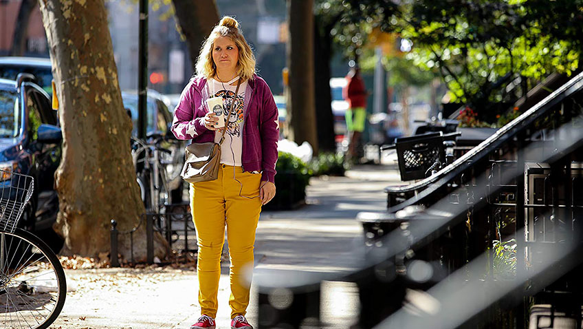 Jillian Bell is hilarious as an overweight New Yorker, until the film stumbles near the finish line