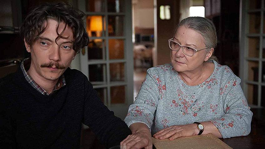 Josiane Balasko and Swann Arlaud in By the Grace of God - Credit IMDB