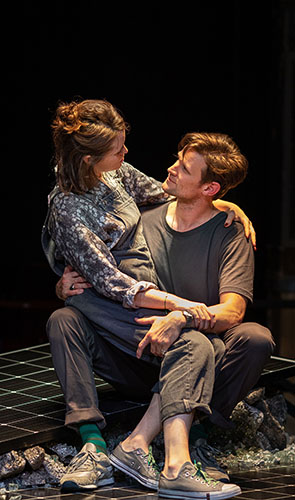 Claire Foy and Matt Smith in Lungs - Credit Helen Maybanks