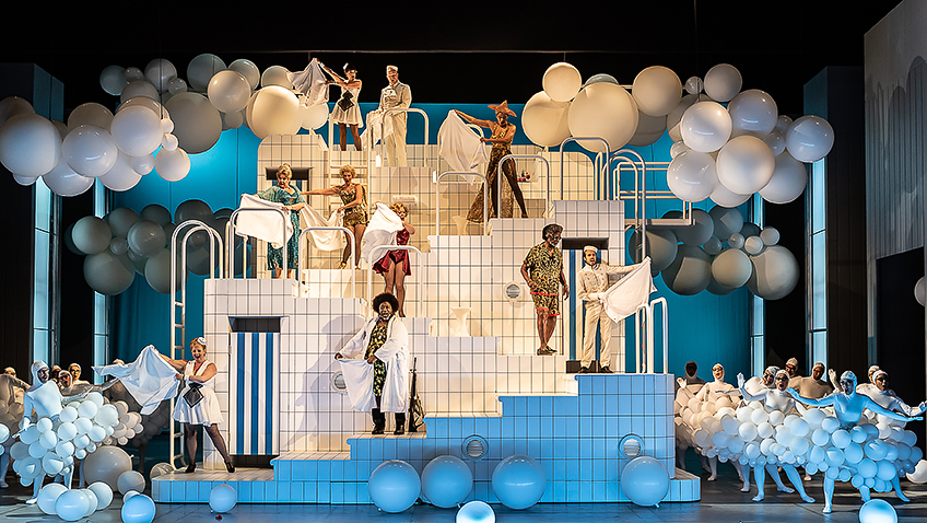 English National Opera's Orpheus cycle continues with Offenbach's operetta