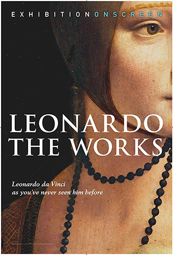Leonardo: The Works cover - Copyright Simon Fenton - Credit IMDB