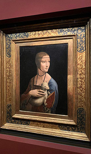 Lady with an Ermine at National Museum Kraków‎ - Copyright EXHIBITION ON SCREEN - Credit IMDB