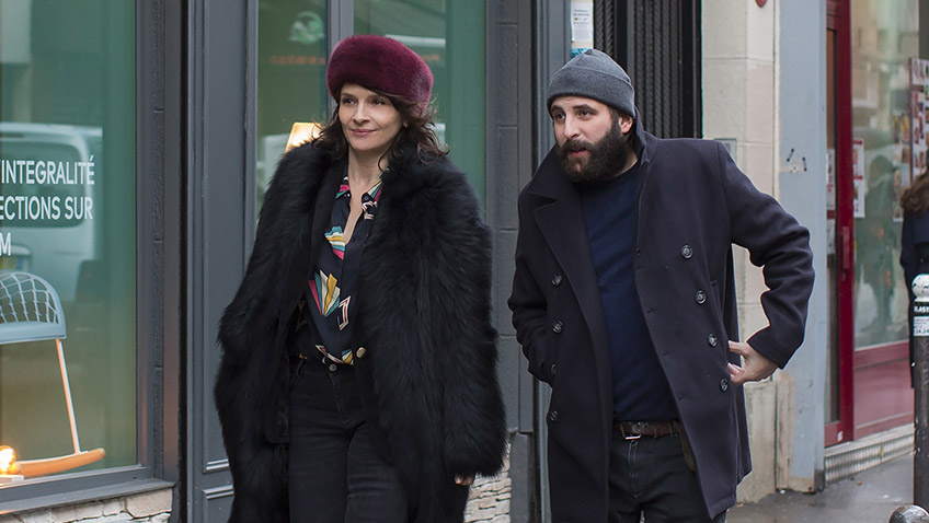 Juliette Binoche and Vincent Macaigne in Non-Fiction - Credit IMDB