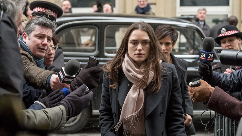 Keira Knightley is great as whistle blower Katharine Gun in this cathartic political thriller