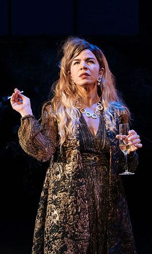 Sirine Saba in Botticelli in the Fire - Credit Manuel Harlan