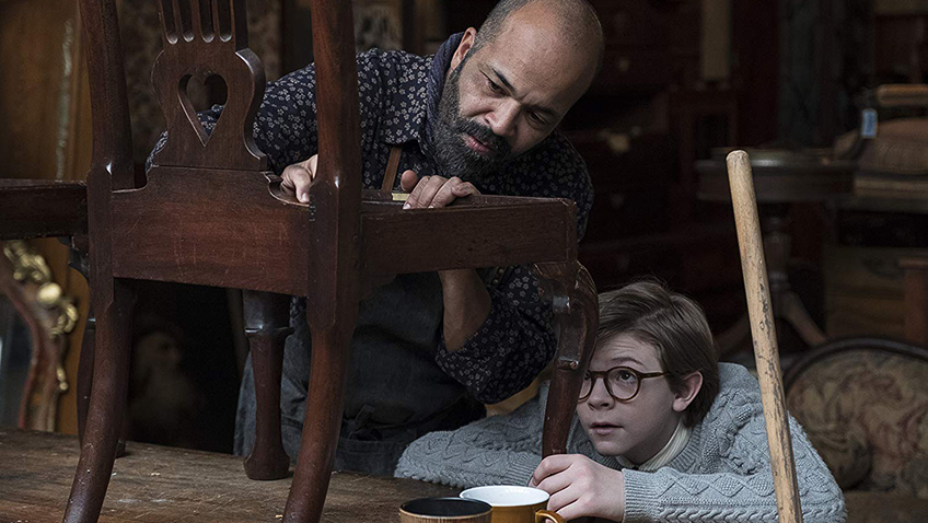 Jeffrey Wright and Oakes Fegley in The Goldfinch - Credit IMDB